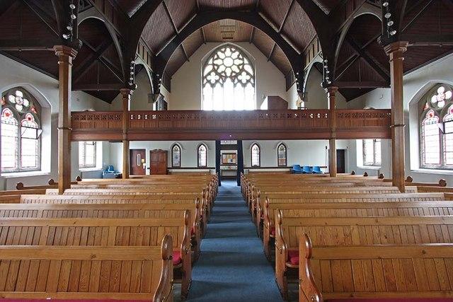 Trinity Church, Church Street, Enfield - West end