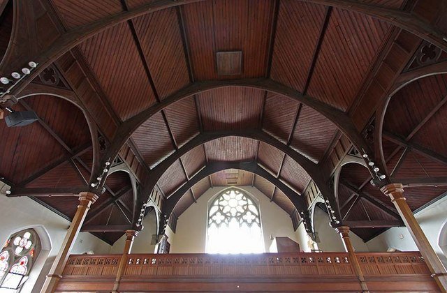 Trinity Church, Church Street, Enfield - Roof