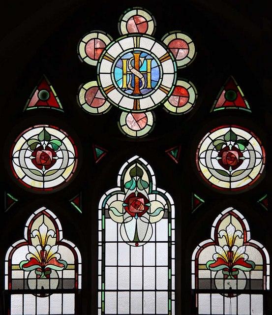 Trinity Church, Church Street, Enfield - Window
