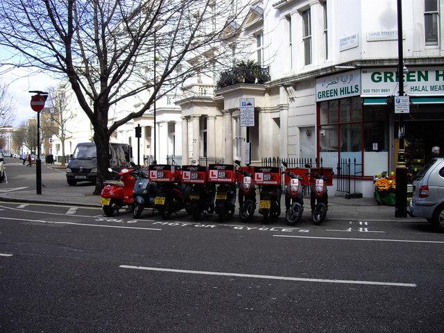 Red hot Bikes