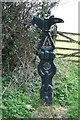 SW8240 : National Cycle Network signpost. by Fred James