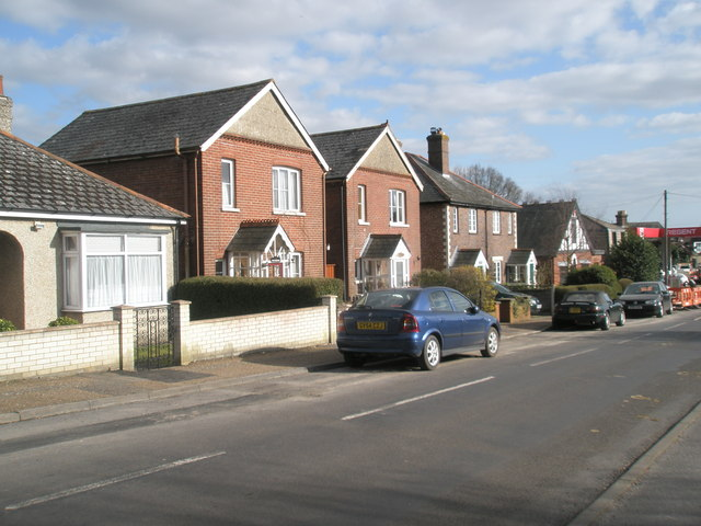 Houses on Monks Hill