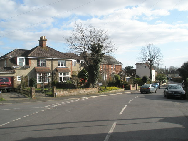 Junction of Monks Hill and Commonside