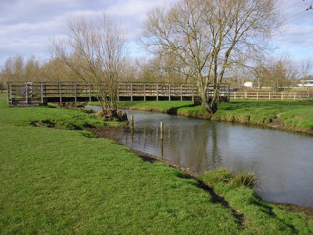 Footbridge over River Blackwater