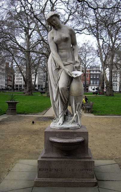 Statue in Berkeley Square