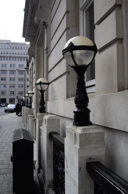 Lamps in Berkeley Square