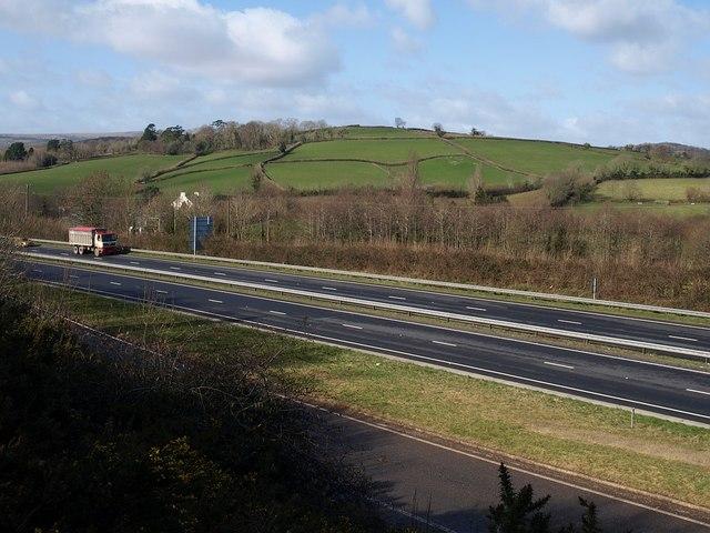 A38 near Ashburton