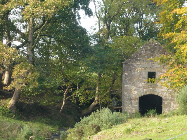 Old Watermill at Cochno Farm