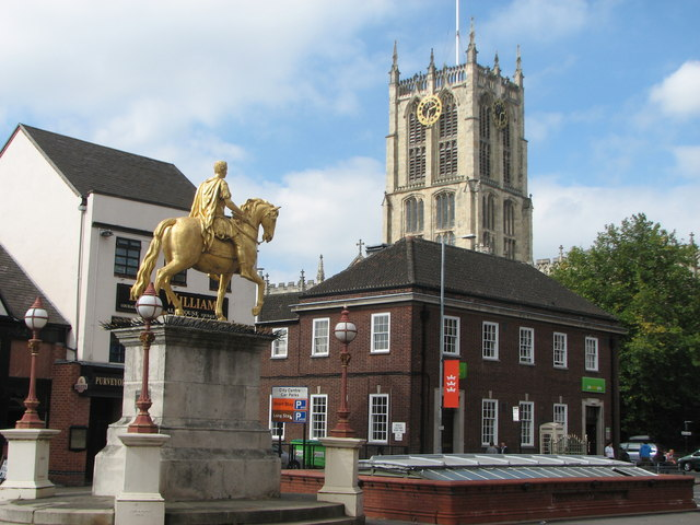 King William Statue Hull