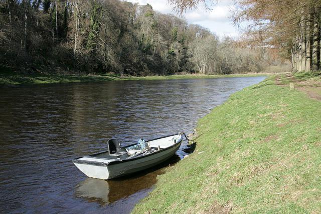 The River Tweed at Monksford Bank