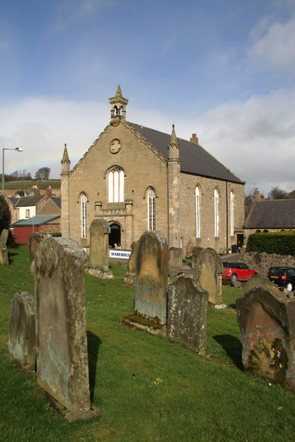 A converted church in Duns