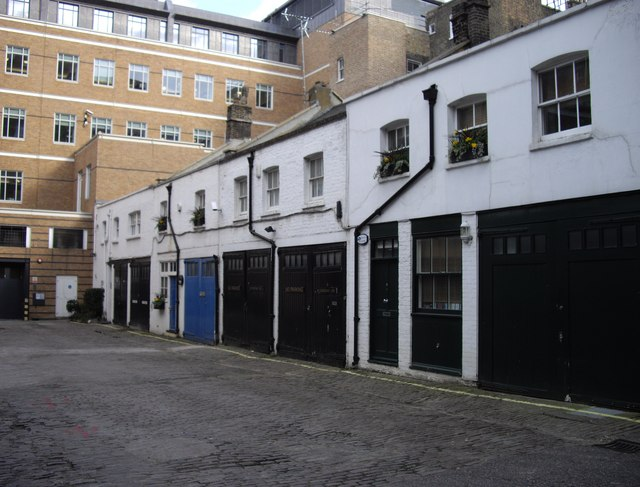 Garages in Bakers Mews