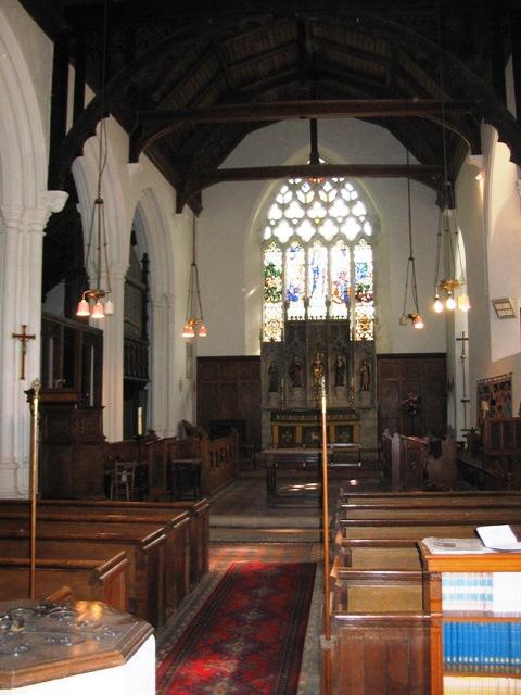All Saints Church, Long Marston – Interior