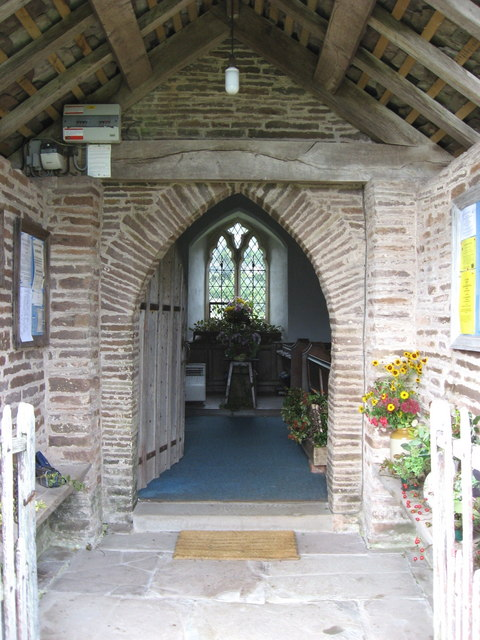 Entrance porch of  St. Margarets church