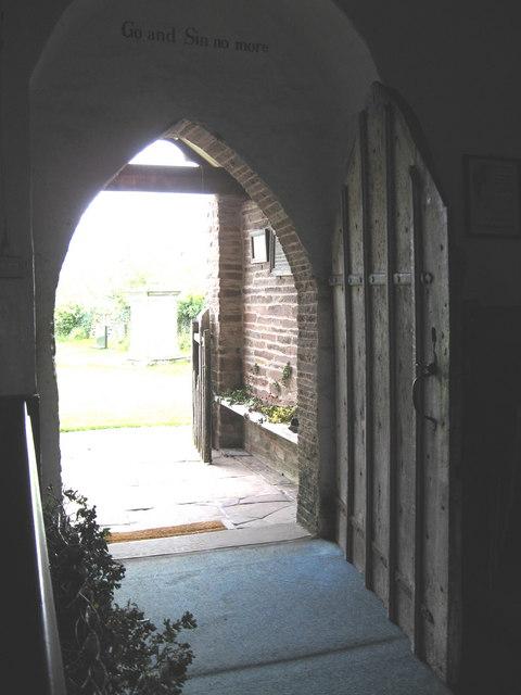 Ancient door of  St. Margarets church