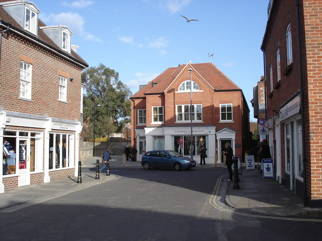 Chichester - the Stephen Lawrence shop on St Martins Street