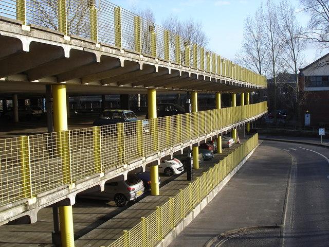 Chichester - multi-storey car park near the Waitrose store