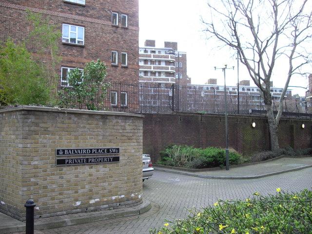 Street Sign 'Balvaird Place'