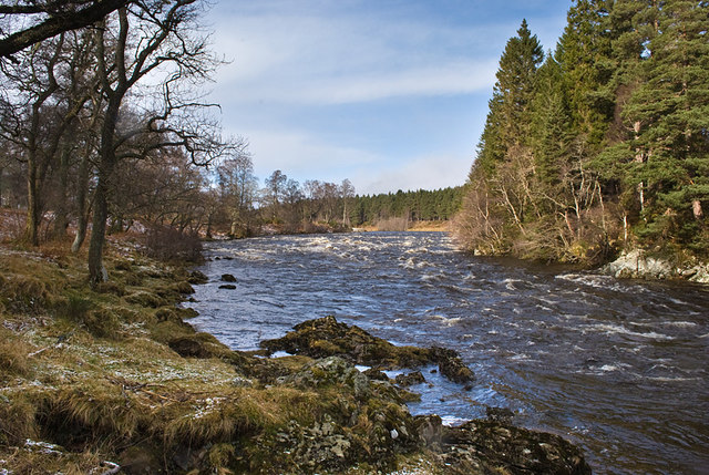 River Dee at Dinnet