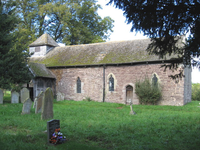 Church of St. Mary Magdalene, Turnastone. (South side)