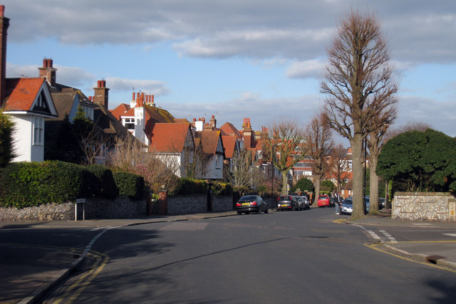 Houses on Ditton Road, Eastbourne