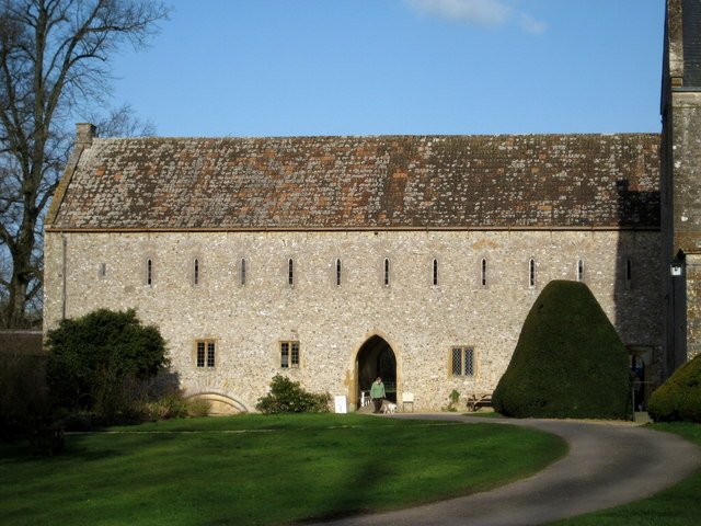 The monks' quarters - Forde Abbey