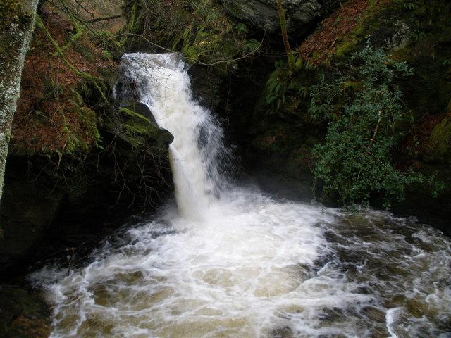 Waterfall on Sluain Burn