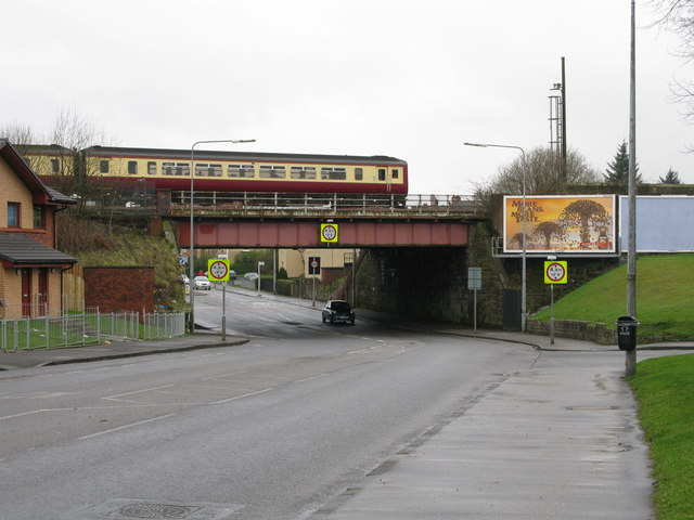 Railway Bridge over Hawthorn Street