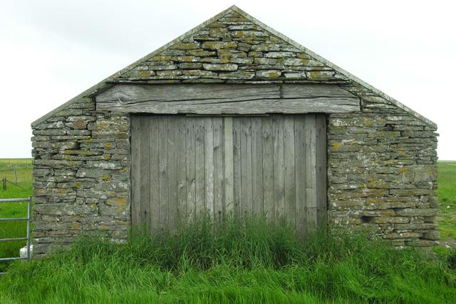 Disused garage/workshop, Flakiemoss, Shapinsay
