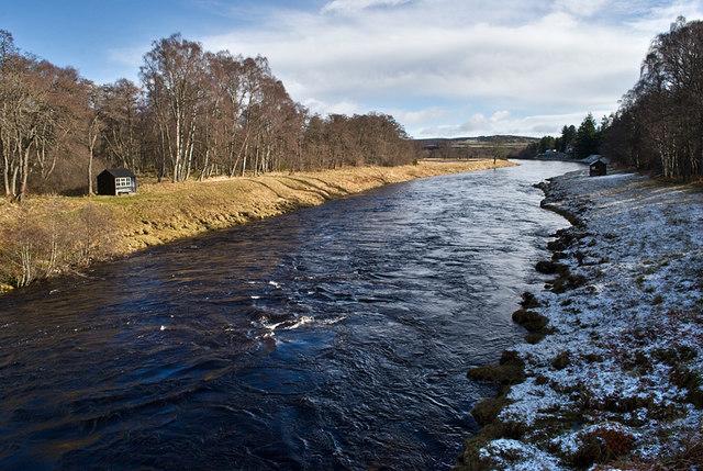 River Dee below Dinnet Bridge