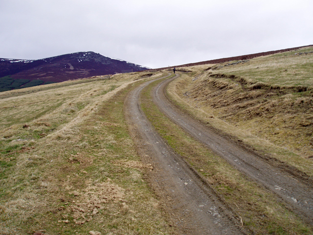 Southern approach to Ben Rinnes