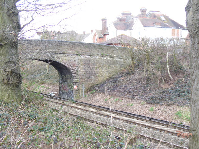 Railway Bridge, South-west Claygate