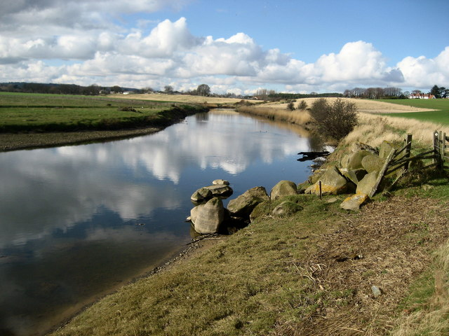 River Aln east of Lesbury
