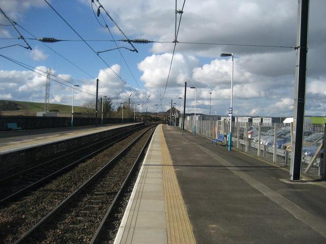 Alnmouth for Alnwick Station Platform