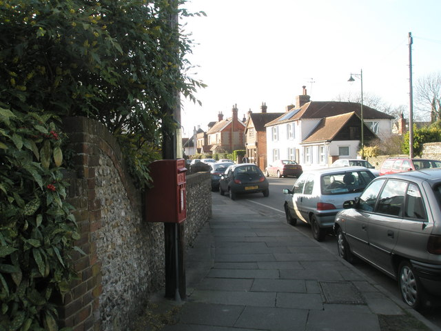 Postbox in East Street