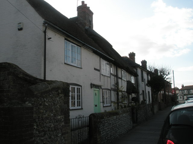 Cottages in East Street