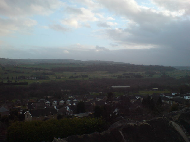 View towards Stainland