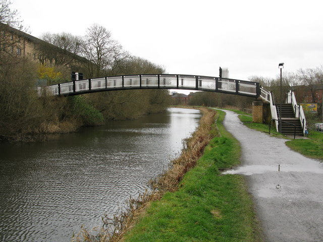 Footbridge over the Glasgow Branch of the Forth and Clyde Canal