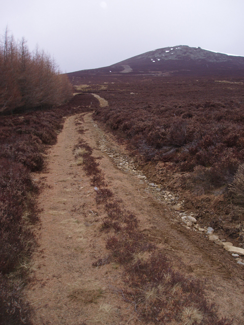 Track to Ben Rinnes