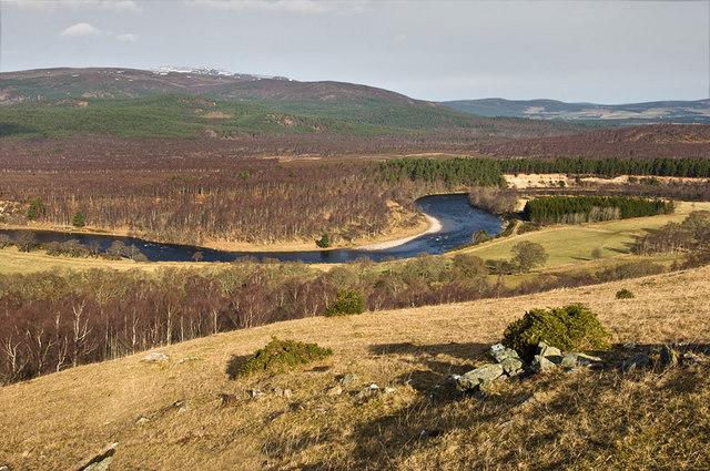 Hillside above Deecastle
