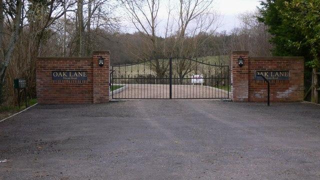 Gateway to Oak Lane