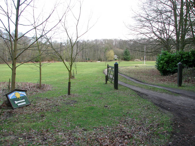 Entrance to Bracken Farm