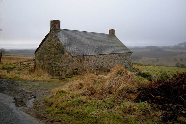 View of Ruined Cottage, Glenmoy
