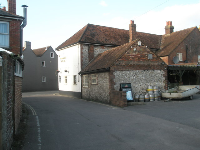 Rear of The White Horse, Westbourne