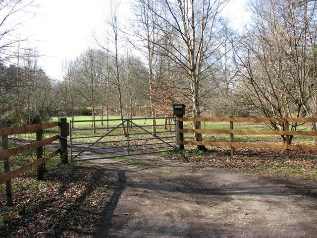 Entrance to Heathside Nurseries