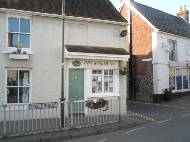 Art Gallery in The Square, Westbourne