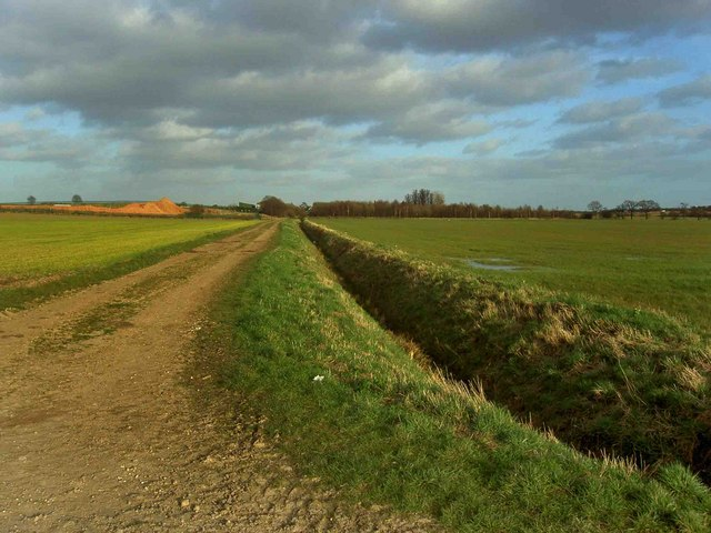 Track to Hunster Grange Farm