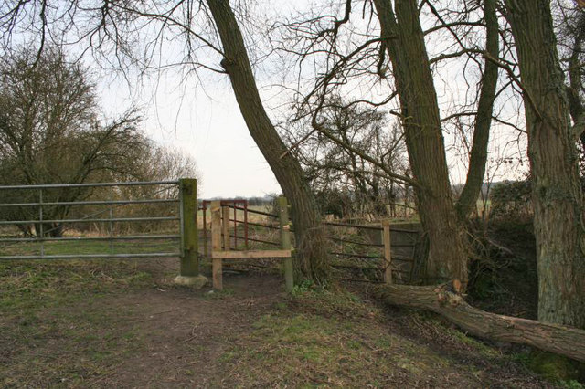 Stile on Gypsy Lane