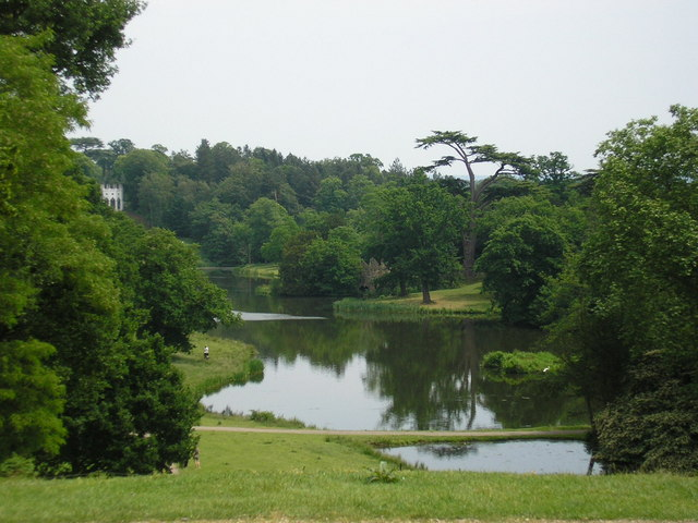 The Lake at Painshill Park