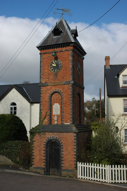 Memorial clock tower, Whitchurch